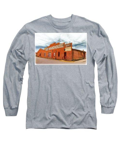 Old Warehouse In Farmville Virginia Long Sleeve T-Shirt