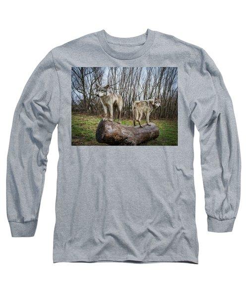 Opposite Ends Long Sleeve T-Shirt