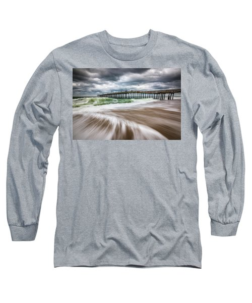 Outer Banks Nc North Carolina Beach Seascape Photography Obx Long Sleeve T-Shirt
