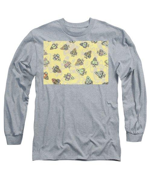 Overlaid Orbits Long Sleeve T-Shirt