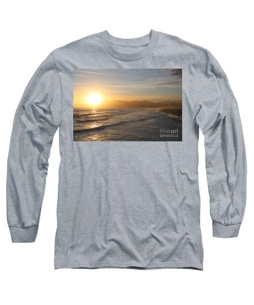 Pacific Sunset , Santa Monica,  California Long Sleeve T-Shirt