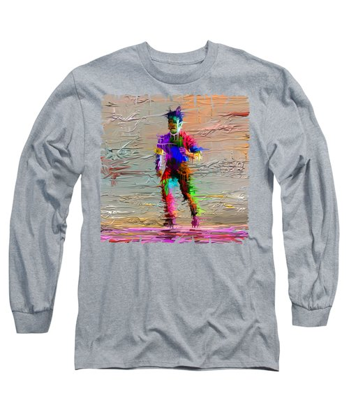 Painted Man Long Sleeve T-Shirt