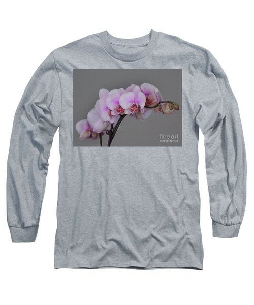 Painted Orchids Long Sleeve T-Shirt