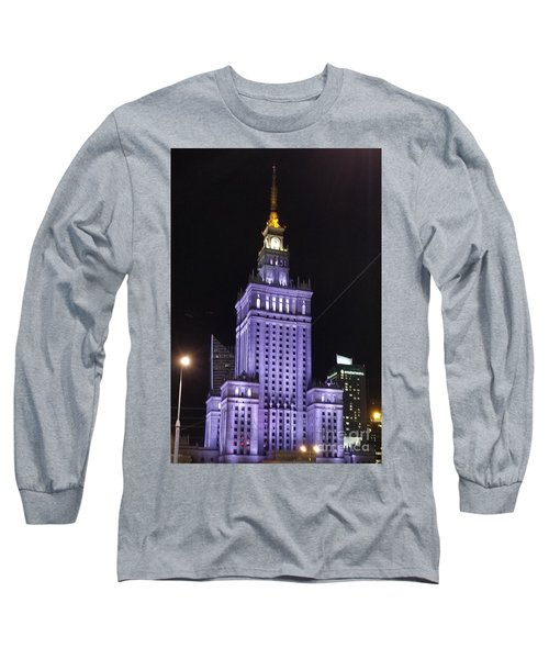 Palace  Of Culture And Science  Long Sleeve T-Shirt