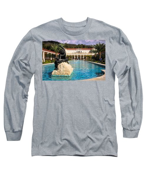 Pano View Getty Villa Awesome  Long Sleeve T-Shirt