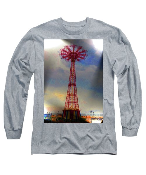 Parachuted Jump Long Sleeve T-Shirt