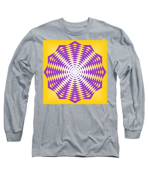 Passionate Purple  Long Sleeve T-Shirt