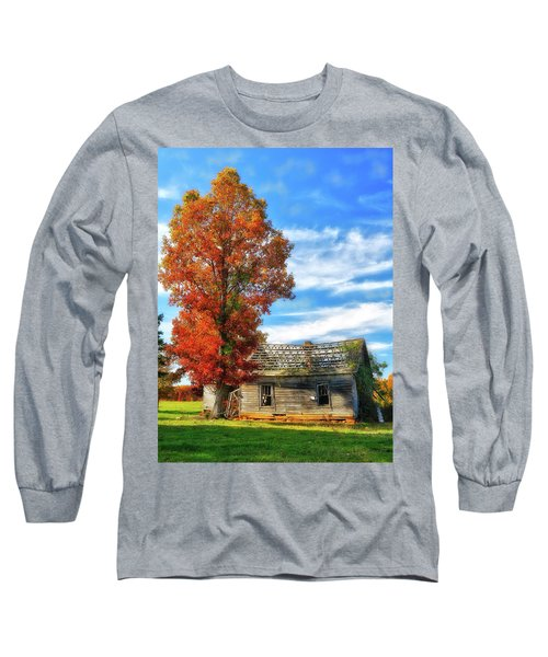 Past Its Prime Vintage Autumn Barn Ap Long Sleeve T-Shirt