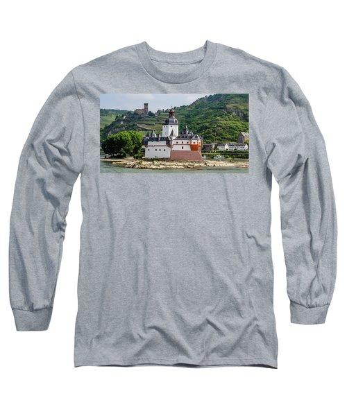 Pfalzgrafenstein Castle Long Sleeve T-Shirt