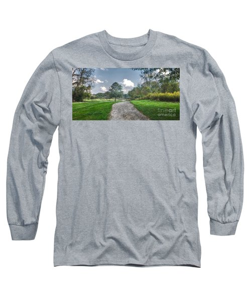 Pickerington Ponds Walkway Long Sleeve T-Shirt