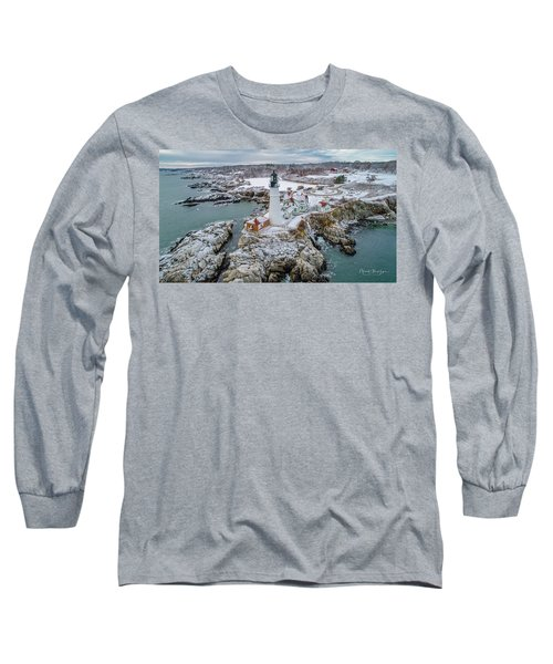 Picturesque Maine  Long Sleeve T-Shirt