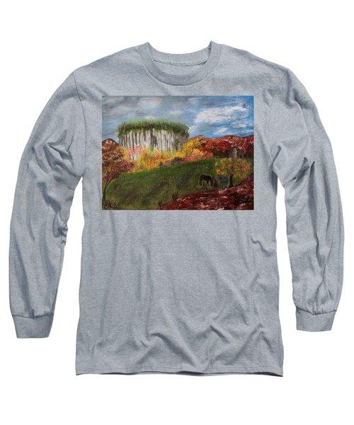Pilot Mountain Long Sleeve T-Shirt