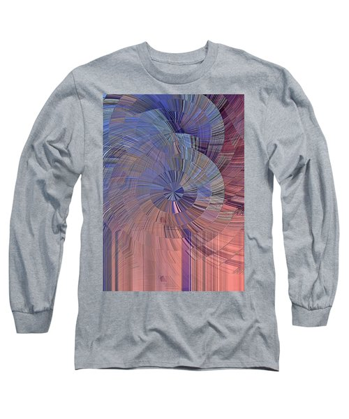 Pink, Blue And Purple Long Sleeve T-Shirt