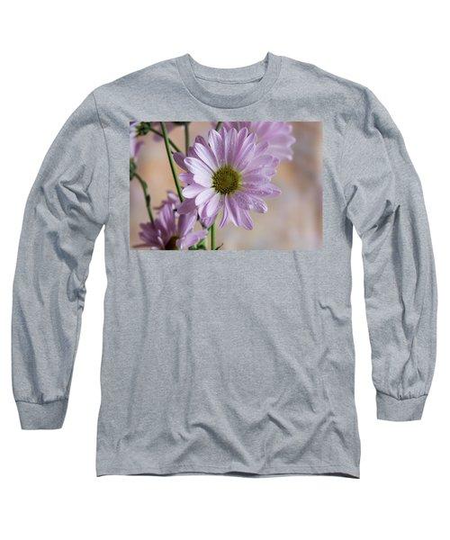 Pink Daisies-5 Long Sleeve T-Shirt