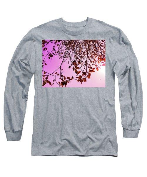Pink Glow Long Sleeve T-Shirt