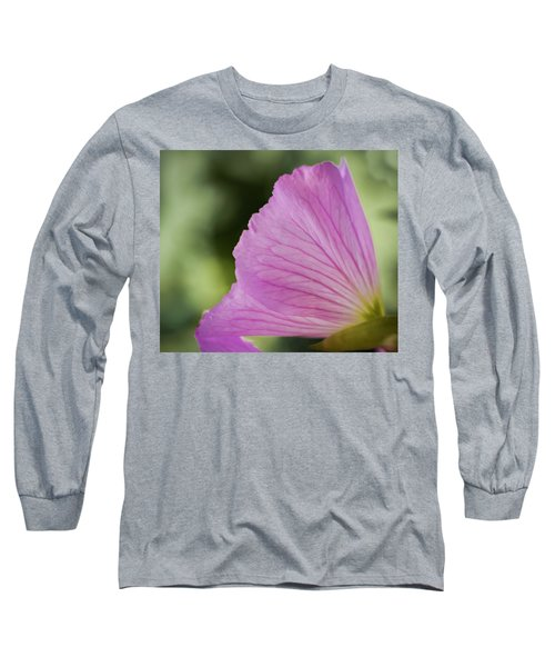 Pink Vains Long Sleeve T-Shirt