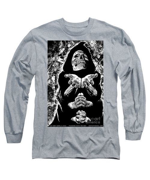 Pleading With The End Long Sleeve T-Shirt
