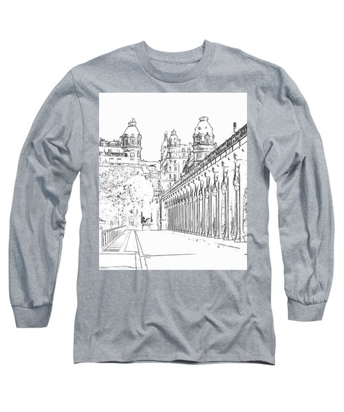 Pont De Bir-hakeim Long Sleeve T-Shirt