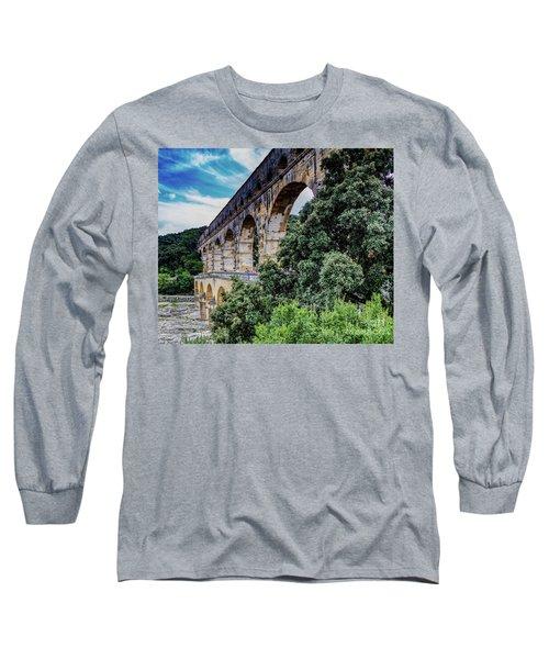 Pont Du Gard Long Sleeve T-Shirt
