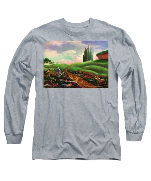Poppies Will Make Them Sleep Long Sleeve T-Shirt