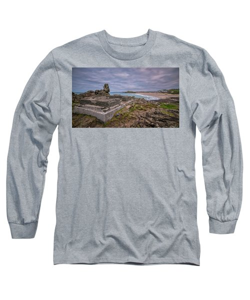 Porthmeor Beach January View Long Sleeve T-Shirt