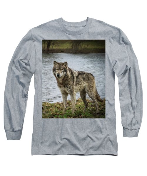 Posing By The Water Long Sleeve T-Shirt