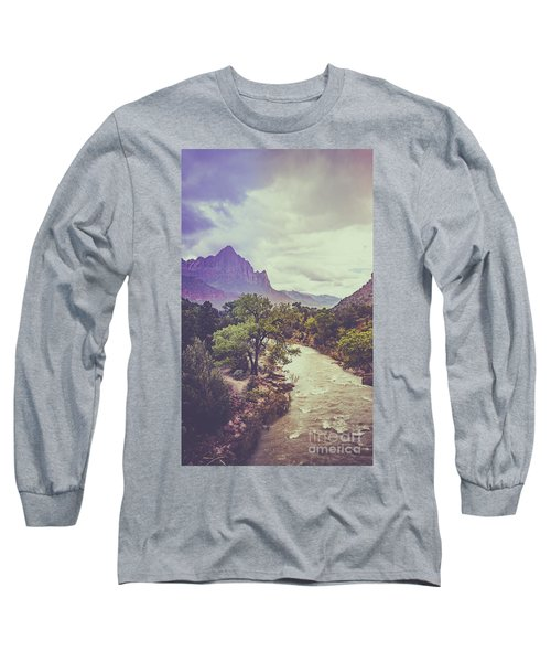 Postcard Image Long Sleeve T-Shirt