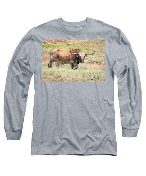Prairie Longhorn Long Sleeve T-Shirt
