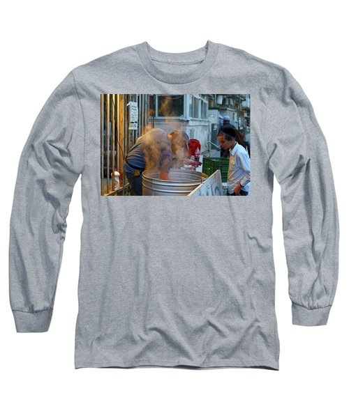 Preparing Dishes For Passover Long Sleeve T-Shirt