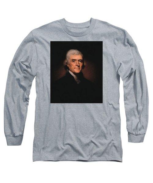 President Thomas Jefferson  Long Sleeve T-Shirt