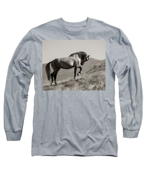 Long Sleeve T-Shirt featuring the photograph Proud by Mary Hone
