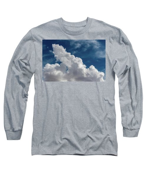 Puffy White Clouds Long Sleeve T-Shirt