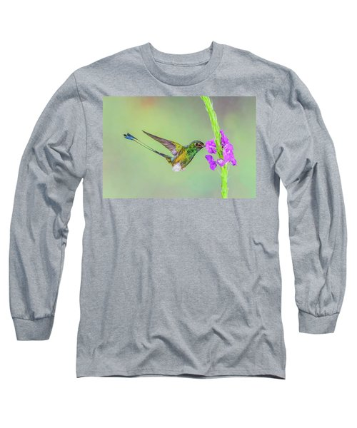 Purple Attraction Long Sleeve T-Shirt