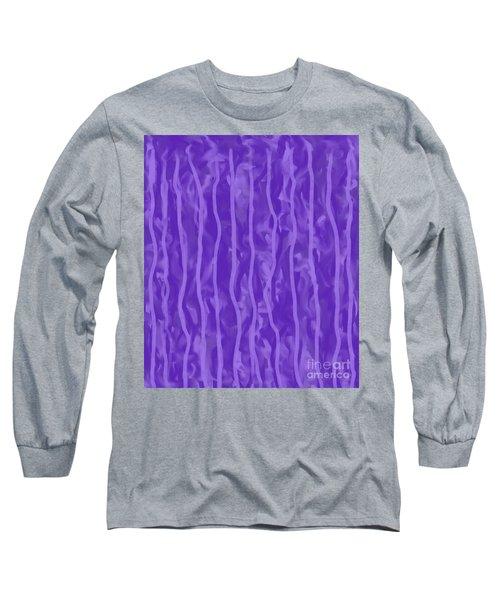 Purple Rain On My Window Long Sleeve T-Shirt