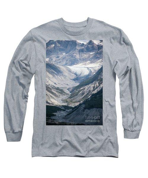Queen Inlet Glacier Long Sleeve T-Shirt