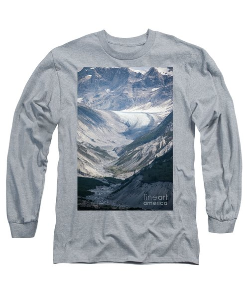 Queen Inlet Glacier Long Sleeve T-Shirt