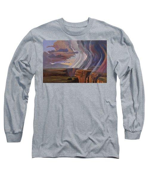 Rainbow Of Rain Long Sleeve T-Shirt