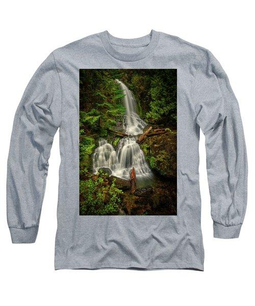 Rainier Falls Creek Falls Long Sleeve T-Shirt