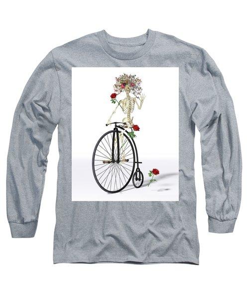 Rambling Rosy  Long Sleeve T-Shirt