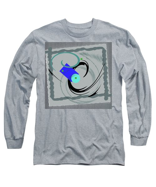 Randomness Variations 5, On Paper Montage Long Sleeve T-Shirt