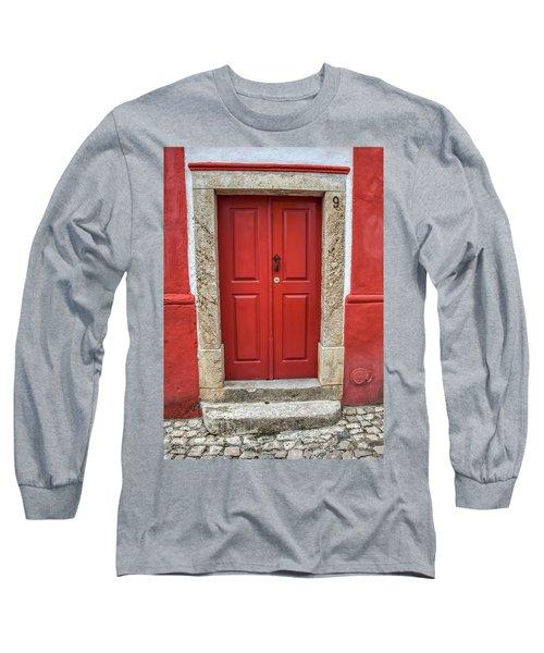 Red Door Nine Of Obidos Long Sleeve T-Shirt
