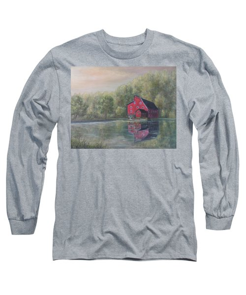 Red Mill Clinton New Jersey Long Sleeve T-Shirt