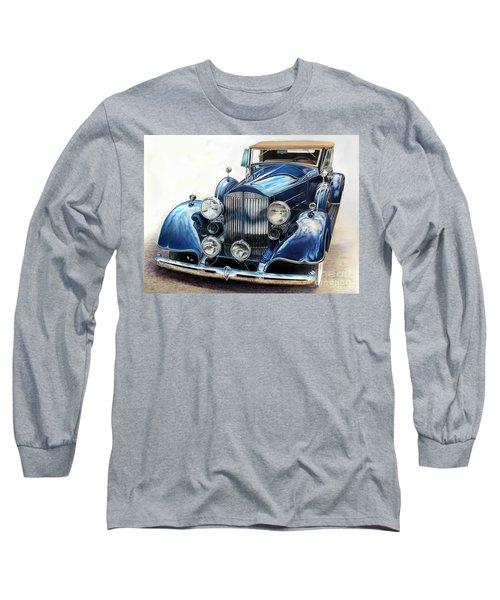 Reflection On Blue Long Sleeve T-Shirt