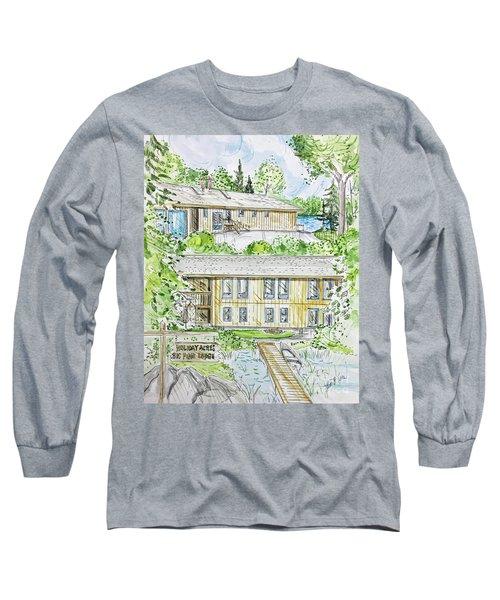 Rendering Sample H-37 Long Sleeve T-Shirt