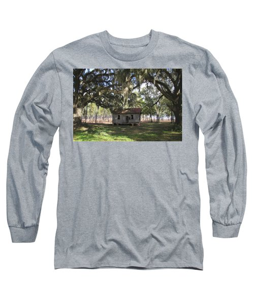 Resting Under The Big Shade Trees Long Sleeve T-Shirt