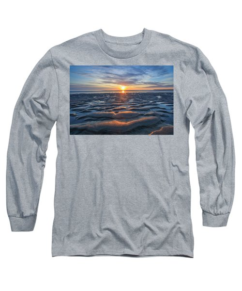 Rippled Long Sleeve T-Shirt