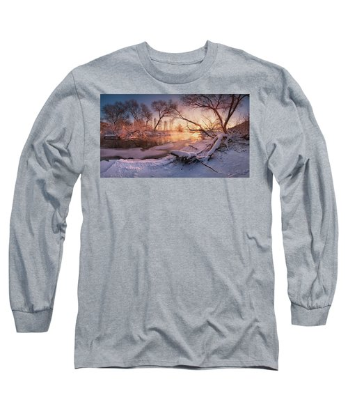 River Portraiture In Evening Light Long Sleeve T-Shirt