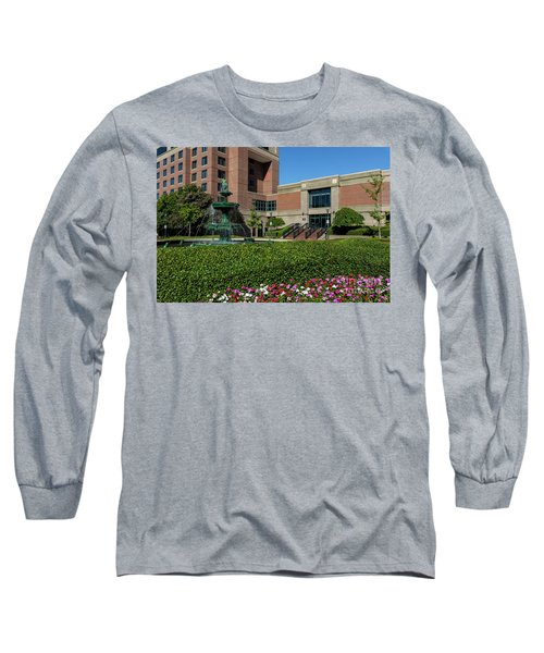 Riverwalk Augusta Ga Fountain Long Sleeve T-Shirt