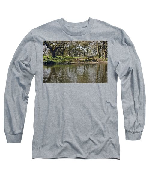 Rivington  Japanese Pool Bench. Long Sleeve T-Shirt