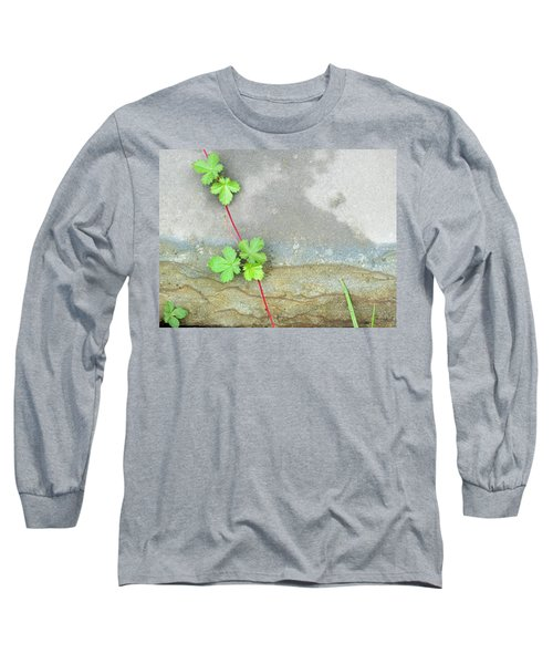 Rock Stain Abstract 4 Long Sleeve T-Shirt